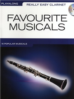 Really Easy Clarinet: Favourite Musicals CD et Livre | Clarinette