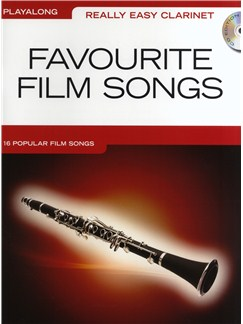 Really Easy Clarinet: Favourite Film Songs CD et Livre | Clarinette