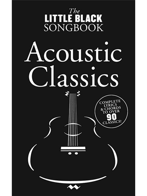 The Little Black Songbook Acoustic Classics Lyrics Chords Sheet
