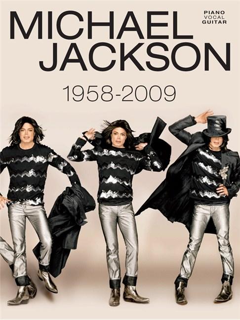 Michael Jackson 1958 To 2009 Piano Vocal Guitar Sheet Music