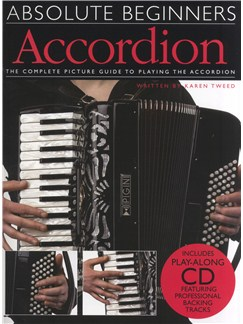 Absolute Beginners: Accordion (Book/CD) Books and CDs | Accordion