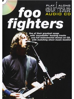 Play Along Guitar Audio CD: Foo Fighters CD et Livre | Tablature Guitare