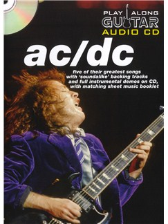 Play Along Guitar Audio CD: AC/DC Books and CDs | Guitar Tab