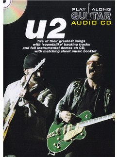 Play Along Guitar Audio CD: U2 Books and CDs | Guitar Tab