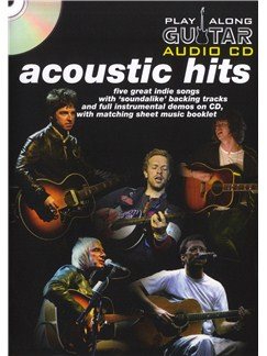 Play Along Guitar Audio CD: Acoustic Hits Books and CDs | Guitar Tab