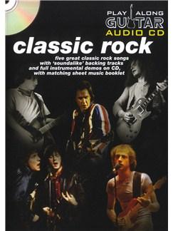 Play Along Guitar Audio CD: Classic Rock Books and CDs | Guitar Tab