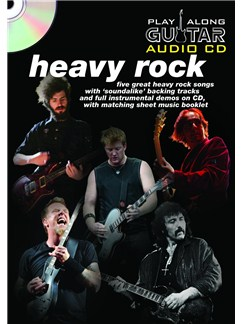 Play Along Guitar Audio CD: Heavy Rock Books and CDs | Guitar Tab