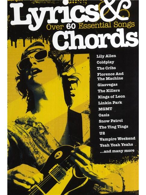 Lyrics Chords Over 60 Essential Songs Lyrics Chords Sheet