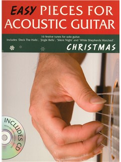 Easy Pieces For Acoustic Guitar: Christmas Bog og CD | Guitar Tab