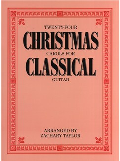 Twenty-Four Christmas Carols For Classical Guitar Books | Guitar, Classical Guitar