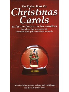 The Pocket Book Of Christmas Carols Books | Melody Line, Lyrics & Chords