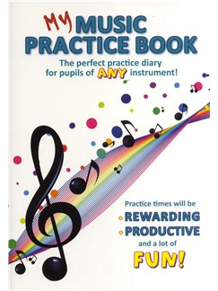 My Music Practice Book Books | All Instruments