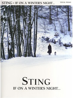Sting: If On A Winter's Night Livre | Piano, Chant et Guitare