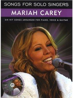Songs For Solo Singers: Mariah Carey CD et Livre | Piano, Chant et Guitare (Symboles d'Accords)