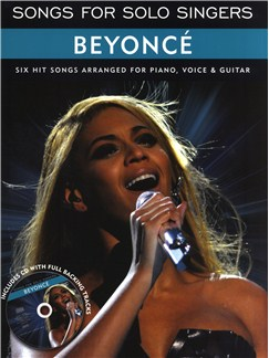 Songs For Solo Singers: Beyoncé Books and CDs | Piano, Vocal & Guitar
