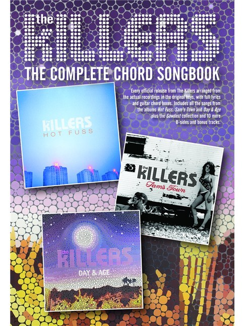 The Killers: The Complete Chord Songbook - Lyrics & Chords Sheet ...