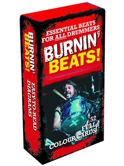 Burnin' Beats! - 52 Full Colour Beat Cards Books | Drums