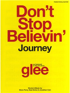 Journey: Don't Stop Believin' (Glee) - PVG Books | Piano, Vocal & Guitar