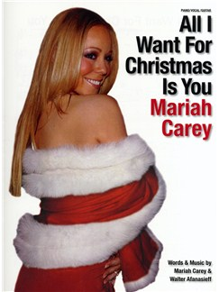 Mariah Carey: All I Want For Christmas Is You - PVG Books | Piano, Vocal & Guitar