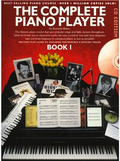 The Complete Piano Player Book 1 - CD Edition Books and CDs | Piano