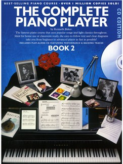 The Complete Piano Player: Book 2 - CD Edition Books and CDs | Piano