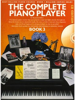 The Complete Piano Player: Book 3 - CD Edition Books and CDs | Piano