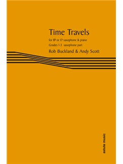 Time Travels: Tenor Or Alto Saxophone Part Books | Tenor Saxophone
