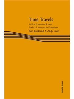 Time Travels: Piano Part For Eb Saxophone Books | Piano Accompaniment