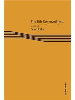 Geoff Eales: The 11th Commandment Books | Flute