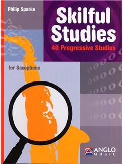 Skilful Studies: 40 Progressive Studies - Saxophone Books | Saxophone