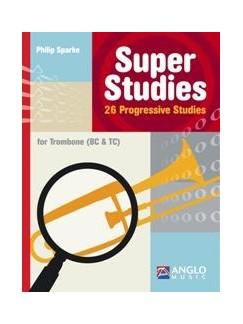 Super Studies: Philip Sparke - Trombone Bc/Tc Solo Books | Trombone