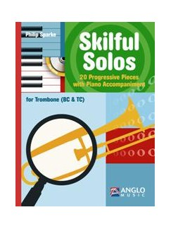 Philip Sparke: Skilful Solos (Book/CD) Books and CDs | Trombone