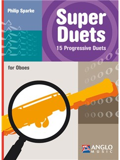 Philip Sparke: Super Duets - 2 Oboes Books | Oboe (Duet)