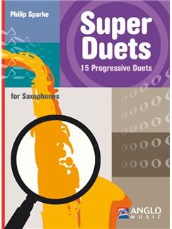Philip Sparke: Super Duets - 2 Alto Saxophones Books | Alto Saxophone (Duet)