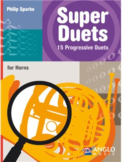 Philip Sparke: Super Duets - 2 Horns Books | French Horn