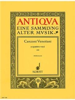 Venezianische Canzonen Books | Recorder Ensemble, String Quartet, SATB