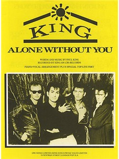 Paul King: Alone Without You (PVG) Books | Piano, Voice, Guitar