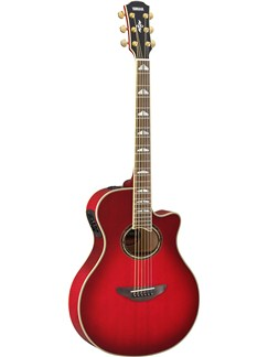 Yamaha: APX1000 Electro-Acoustic Guitar (Crimson Red) Instruments | Electro-Acoustic Guitar