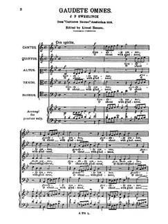 Sweelinck, O Shout With Gladness Ssatb Books | Choral, SSATB