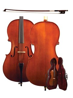 Hofner: AS060 Alfred Stingl 3/4 Size Cello Outfit Instruments | Cello