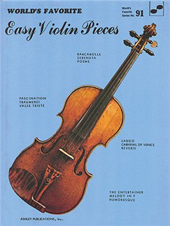 Easy Violin Pieces 91 Worlds Favorite Books | Piano, Vocal & Guitar