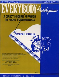 Everybody Likes The Piano: Book 5 Books | Piano