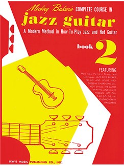 Mickey Baker's Complete Course in Jazz Guitar Book 2 Books |