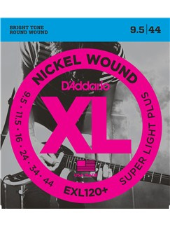 D'Addario: EXL120+ Nickel Wound - Super Light Plus 9.5-44  | Guitar