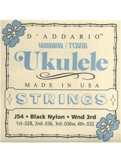 D'Addario: Hawaiian/Tenor Ukulele Strings  | Ukulele
