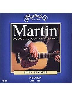 Martin: M150 80/20 Bronze Acoustic Guitar String Set (Medium)  | Acoustic Guitar