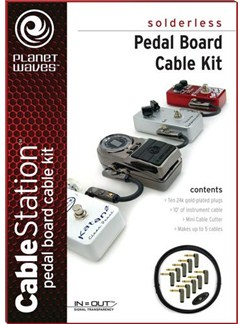 Planet Waves: Cable Station Pedal Board Kit  |