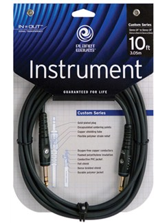 "Planet Waves: 10' Stereo 1/4"" Jack Instrument Cable  