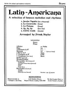 Frank Naylor: Latin Americana (Score/Parts) Books | Orchestra