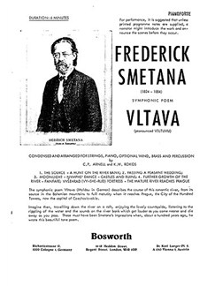 Bedrich Smetana: Vltava - Ma Vlast No.2 Books | Orchestra